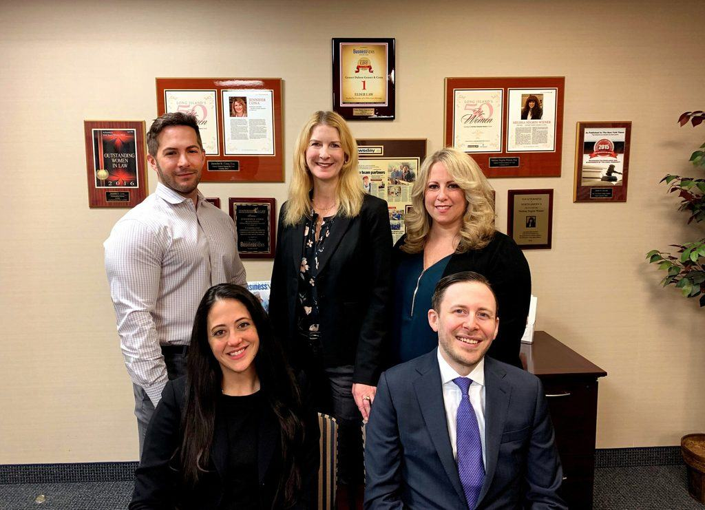 The partners at the Cona Elder Law office on Long Island