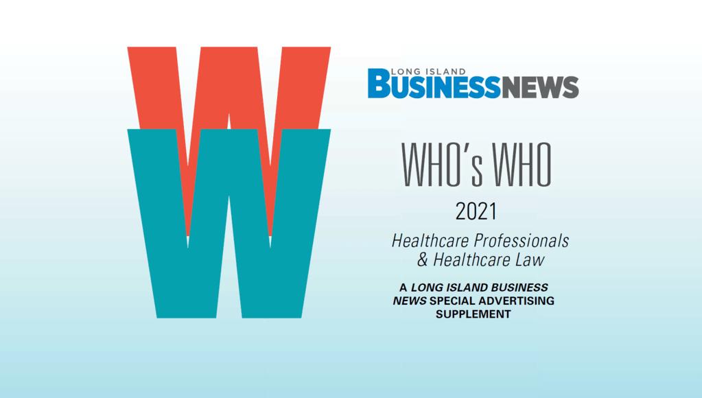 Long Island Business News Who's Who 2021