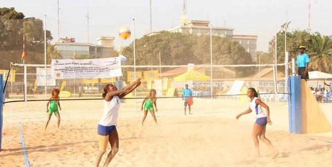 Volley beach Guinée blue zone