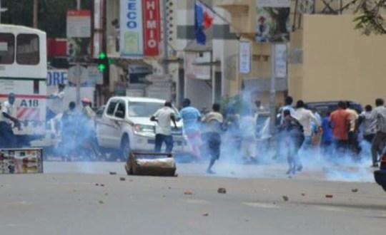 Manifestation de rue au Burundi