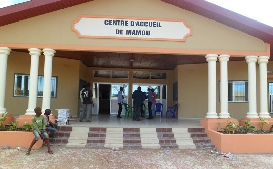 Mamou Guinée centre d'accueil