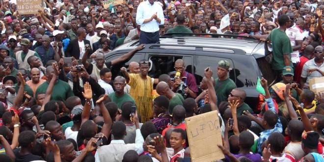 Cellou Dalein Diallo en campagne à Maneya