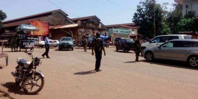 Prison centrale de Conakry La journée ce lundi est mouvementée dans le quartier de Coronthie.