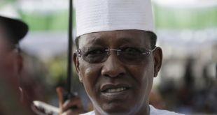 Idriss Déby, à Abuja, le 29 mai. CRÉDITS : SUNDAY ALAMBA / AP