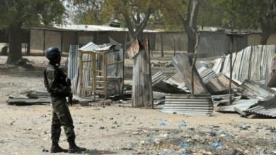 La ville de Fotokol au Cameroun après des affrontements entre soldats et membres de Boko Haram, le 17 février 2015 | AFP/Archives | Reinnier KAZE