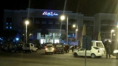 Photo prise par un smartphone de l'hôtel Bella Vista à Hourgada, le 8 janvier 2016 après une attaque   AFP   TAMER HASSAN