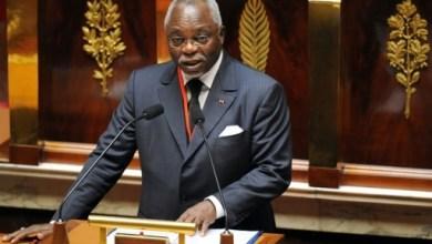 L'ex-président de l'Assemblée nationale du Gabon et candidat à l'élection présidentielle de 2016, Guy Nzouba-Ndama, le 5 juillet 2009 à Paris | AFP/Archives | BORIS HORVAT