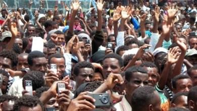 Des manifestants Oromos à Ambo le 15 mai 2010 | AFP/Archives | EMMANUEL GOUJON
