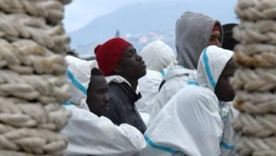 Des migrants secourus en mer, à leur arrivée le 1er février 2016 à Messine en Italie   AFP/Archives   GIOVANNI ISOLINO