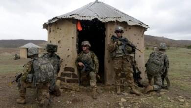 Des soldats américains s'entraînent à Thiès