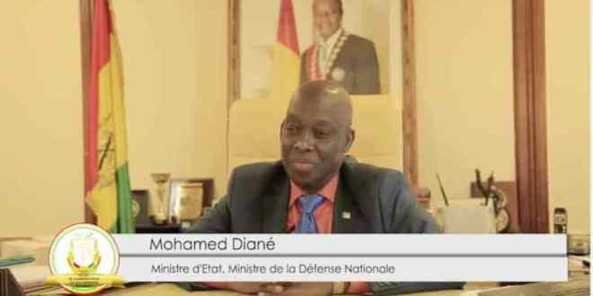 Mohamed Diané, Ministre d'Etat, Ministre de la Défense