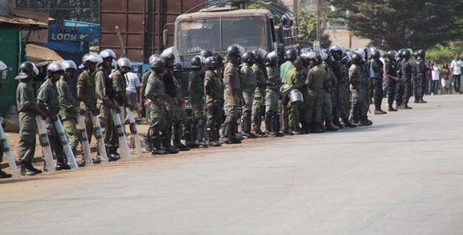 Manifestation à Conakry