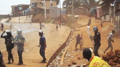 Manifestation de rue à Conakry