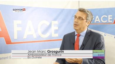 Jean Marc Grosgurin, Ambassadeur France en Guinée