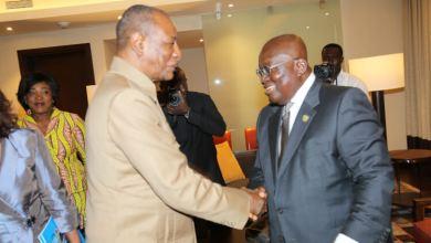 Les Présidents Alpha Condé et Nana Akufo- Addo en tête-à-tête