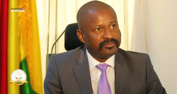 Ministre Moustapha Mamy Diaby