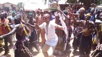 Siaka Barry danse du Doundoumba