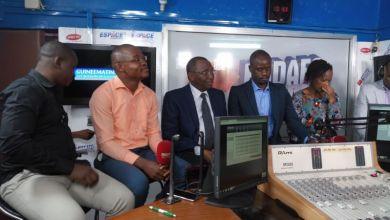 Sidya Touré chez les GG espace FM Guinée