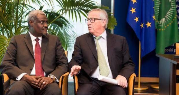 COMMUNIQUE CONJOINT UE-UNION AFRICAINE SUR LA MISE EN ŒUVRE DE L'ACCORD DE PARIS