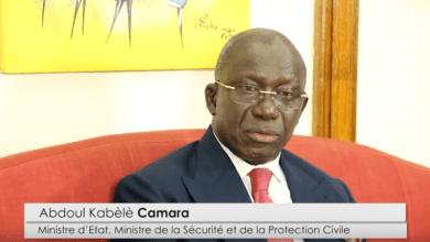 Le Ministre Abdoul Kabele Camara