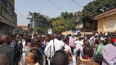 Les journalistes guinéens dan la rue contre la HAC