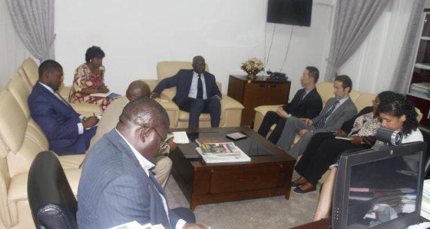 Mamadi Touré, Ministre des Affaires Etrangères et des Guinéens de l'Etranger.