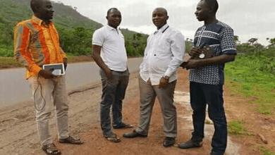 De retour d'un enterrement d'Abdoulaye Bah