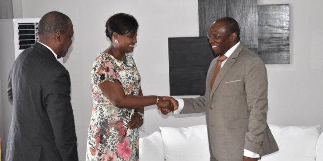 Le Système des Nations Unies rend une visite de courtoisie au Premier Ministre Dr Ibrahima Kassory Fofana