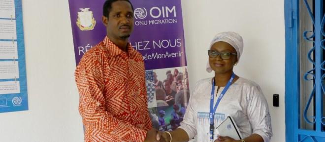 le nouveau Ministre de la Jeunesse, Monsieur Mouctar Diallo