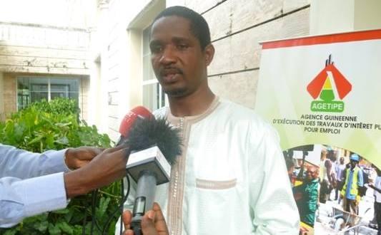 Ministre de la Jeunesse et Emploi des Jeunes, M. Mouctar Diallo