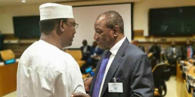 Président de la République, le professeur Alpha Condé et Idrisse Deby