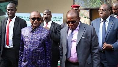 Le Président Alpha Condé au siège de la BICIGUI