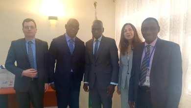 Une mission exploratrice de Natixis reçue en audience par le Ministre de l'Economie et des Finances.