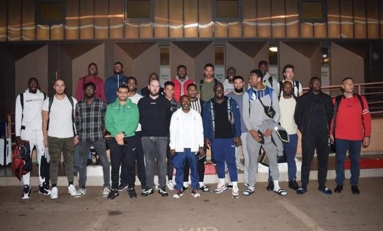 L'équipe de Guinée Handball