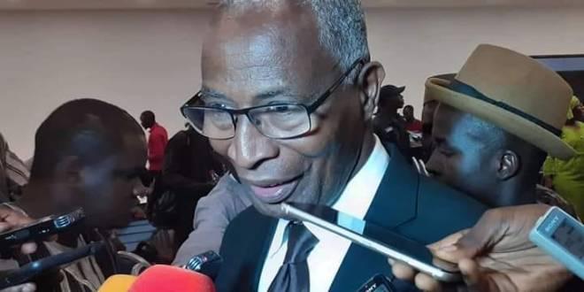 M. Bah Oury ,président de l'UDD
