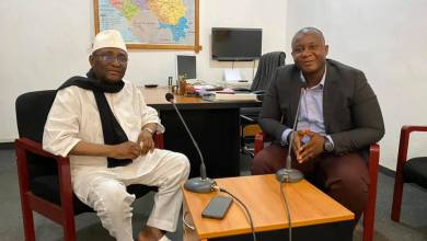 Sidya Touré et Mamadou Oury Diallo