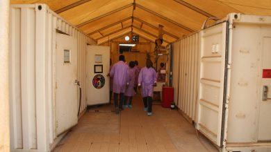 centre de riposte covid-19 coronavirus en Guinée à Nongo