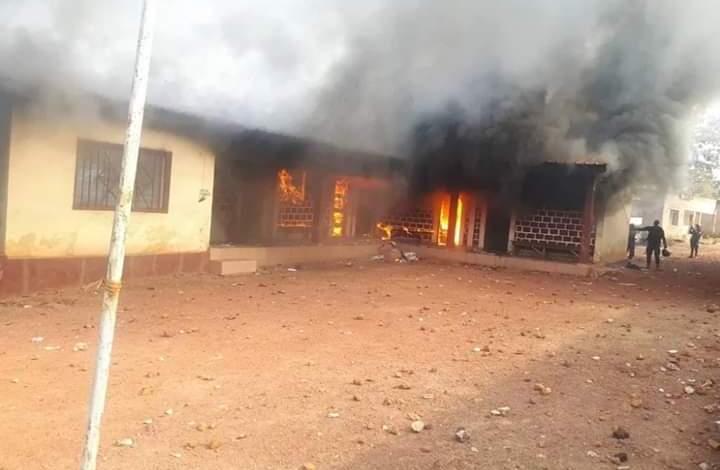 incendies en Guinée