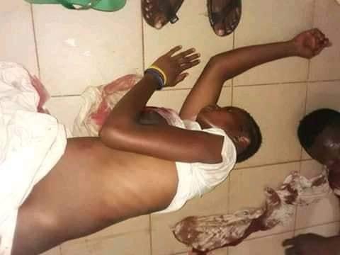 une jeune fille blessé à Coyah
