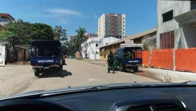 La direction nationale des télécommunications assiégé par les gendarmes
