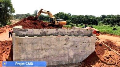 Route Nationale N°1 COYAH-MAMOU-DABOLA (370km) : Les travaux sur les ouvrages de franchissement se poursuivent