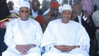 Kassory Fofana et Amadou Gon Coulibaly