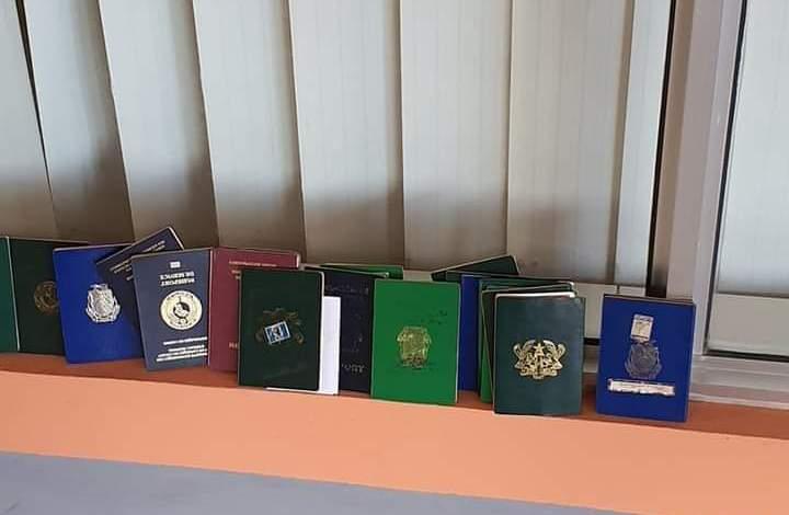 Urgent !!!! Les passeports des joueurs et encadreurs du Horoya AC ont finalement été retrouvés