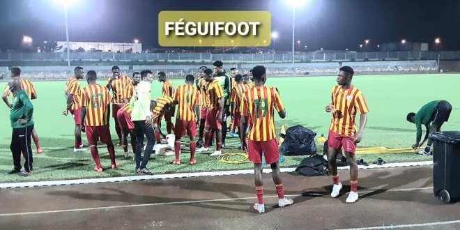 CHAN, Cameroun 2020 Le Syli National Local qui est à Douala