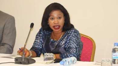 la cheffe de Cabinet Mme Daloba Soumah