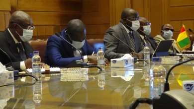Le Ministre Ibrahima khalil Kaba