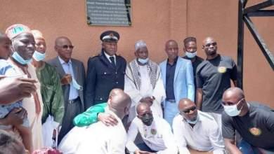 Daka pour l'inauguration du forage offert par l'association