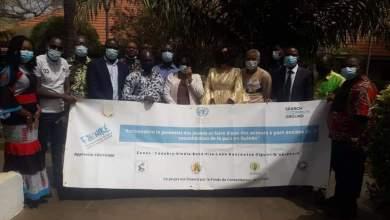 Assiatou Baldé a présidé la 2ème réunion du comité de pilotage du projet « Foniké Entrepreneurs sociaux pour la paix en Guinée » à l'hôtel Riviera
