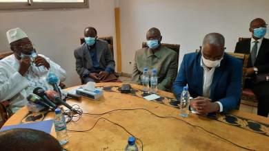 Mamadou Sylla et son cabinet