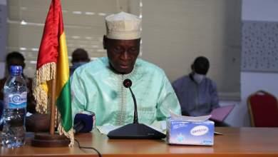 le Ministre de l'Economie et des Finance Mamadou Camara